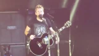 Nickelback - When We Stand Together, live @ Hallenstadion Zürich 13.09.2016