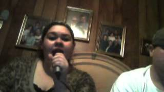 "Me & my cousin singing ""Don't You Wanna Stay by- Jason Aldean"""
