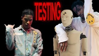 """A$AP Rocky - I Can Feel The Bass/Distorted Records """"TESTING"""""""