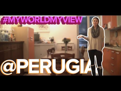 #MyWorldMyView @ Summer in Perugia | Katrina gives us a tour!