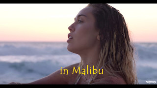 Miley Cyrus - Malibu (Lyrics Male Version)