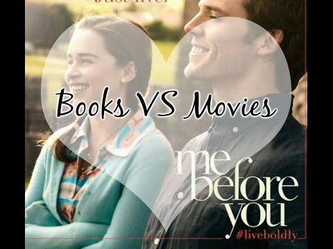 BOOKS VS MOVIES  #2 [ME BEFORE YOU]