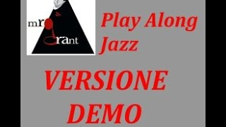 Soultrane -  DEMO Video-Play-Along-Jazz