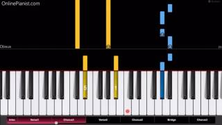 The Chainsmokers - Closer ft. Halsey - Piano Tutorial - Easy Version