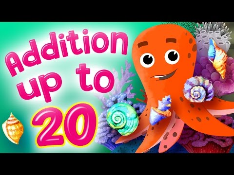 Learn Addition | Addition for Kindergarten | Addition up to 20 by Kids Academy