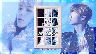 Jimin & Jungkook - We Don't Talk Anymore PT.2 [MV + lyrics] #2017BTSFESTA