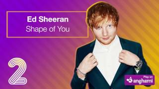 Top 5 Songs on Anghami - Pink, Sia, Coldplay, The Chainsmokers