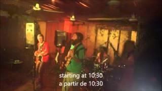 Live Music Puerto Morelos La Sirena Lounge & Sports Bar 13th of Feb 2016. Reggae & World Music Jam