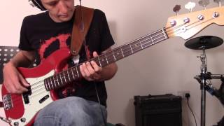 Grace Kelly - Mika - Bass cover width=