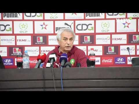 Video : Amine Harit, Younès Belhanda, Abderrazak Hamdallah, Vahid Halilhodzic s'explique