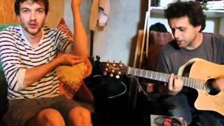 Oli & Sam - Recording session
