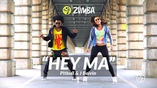 """Pitbull & J Balvin ft Camila Cabelo - """"Hey Ma"""" / Zumba® choreo by Alix & Martin Mitchel"""