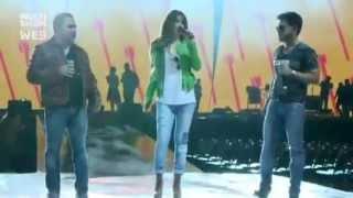 "Ensaio - Paula Fernandes e Zezé Di Camargo & Luciano ""É o amor"""