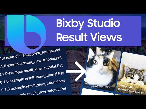 Bixby Result View Tutorial