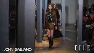 John Galliano. Paris Fashion Week. Otoño/ Invierno 2015-2016