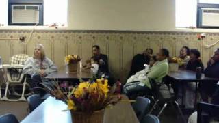 Thanksgiving 2010 at Rescue Mission of Mahoning Valley - Don Smith Singing (2)