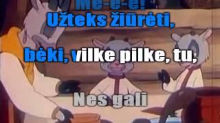 Vilkas ir 7 ožiukai (karaoke).avi