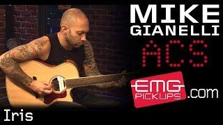 "Mike Gianelli performs ""Iris"" live on EMGtv"