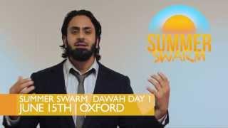 Hamza Tzortzis - History of Oxford University - Summer Swarm