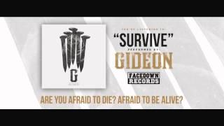 """GIDEON """"Survive"""" Feat. Caleb Shomo of Beartooth"""