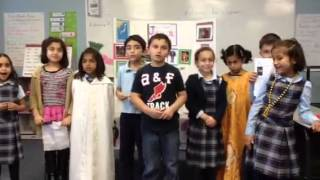 First Grade Multicultural Day Song