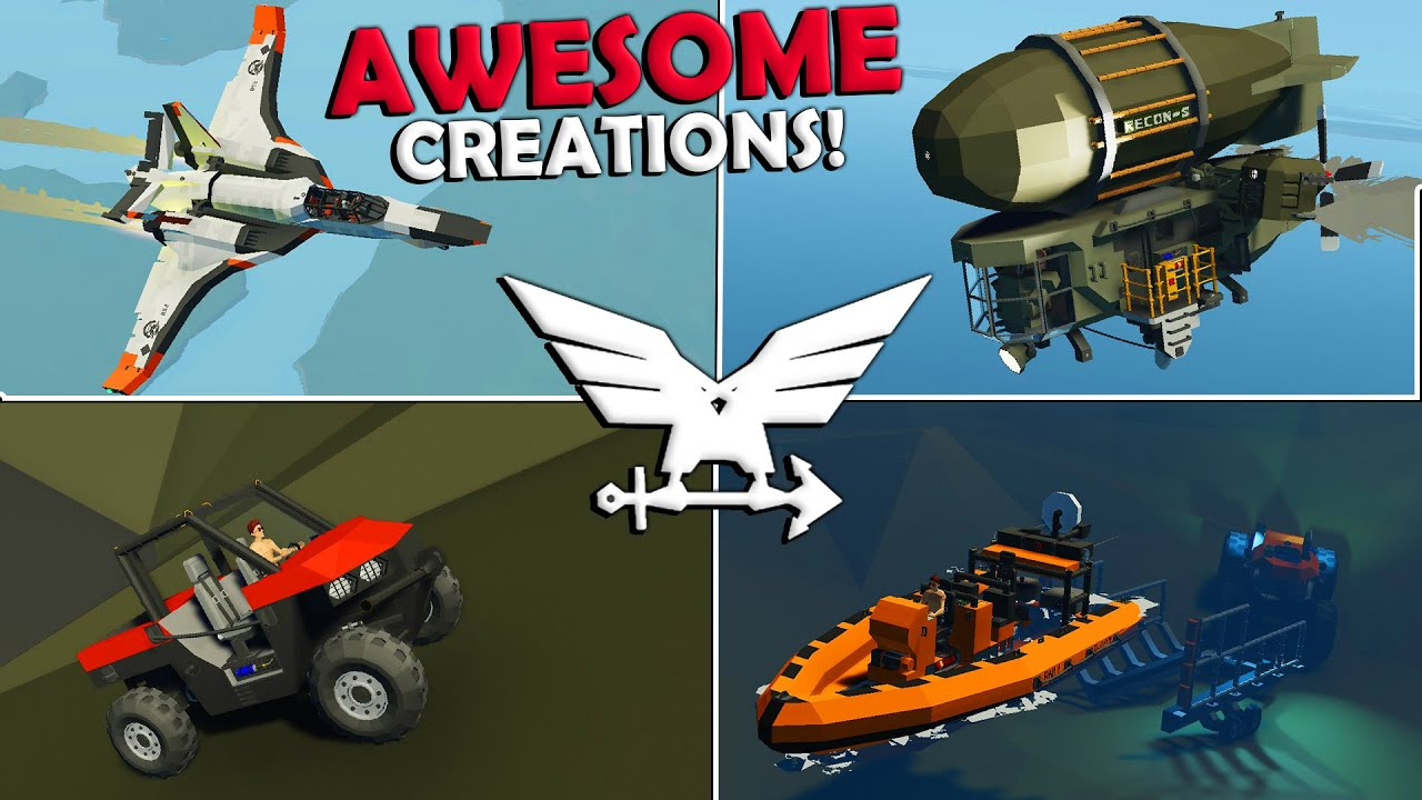 Frantic - Crashing A Baby Zeppelin!  -  Stormworks Awesome Creations  -  Part 3