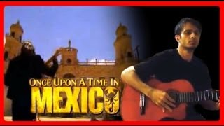 Once Upon a Time in Mexico intro guitar cover Malaguena Salerosa - Arrangement by Em
