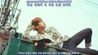 BTS - Crow tit/ Try hard (Sub Español - Hangul - Roma) HD