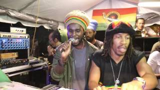 Chronixx freestyle at Kingston Dub Club (Part 1)