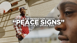 """Bo Staxx - """"Peace Signs""""f/ Smoke DZA (Official Music Video) @VisualSZN x @AZaeProduction"""