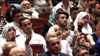Recep Tayyip Erdoğan'ın Külliyede okuduğu Dua şiiri