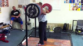 250kg - 551 pound Squat @ 90.8kg - RAW