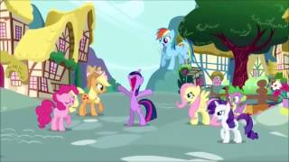 Twilight Sparkle Tells The Queen of Hearts to be Quiet