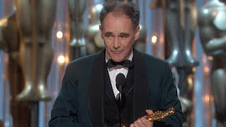 Mark Rylance winning Best Supporting Actor