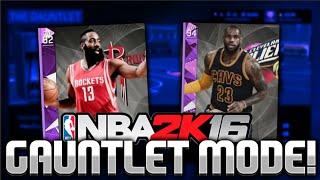 AMETHYST LeBron James & James Harden Dominate NBA 2K16 My Team Gauntlet