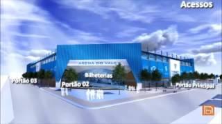 Projeto do Estádio - Esporte Clube Novo Hamburgo