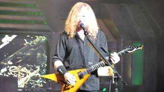 "Megadeth - ""She-Wolf"" - Live 02-29-2016 - The Warfield - San Francisco, CA"