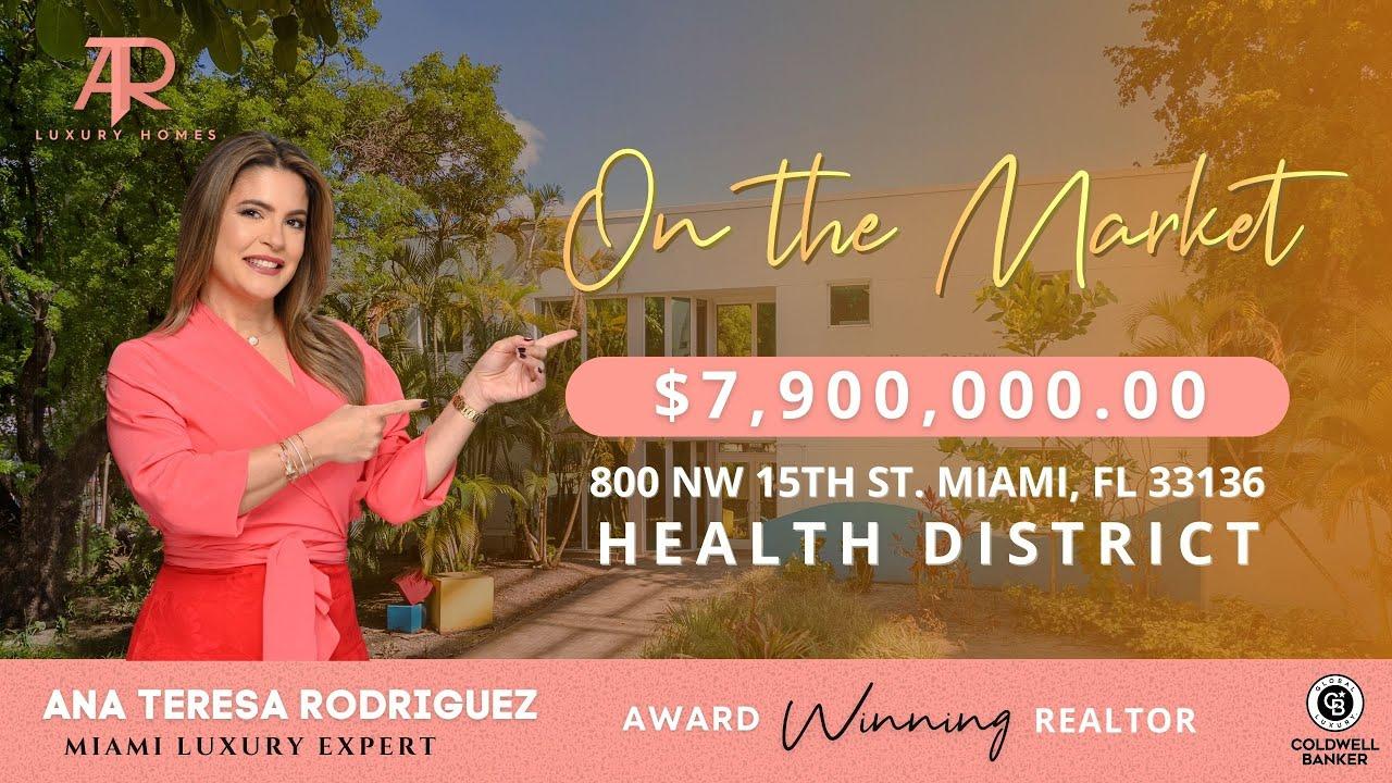 #Miami On the Market: 800 NW 15th St, Miami, FL 33136