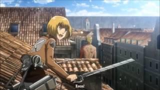 Attack on Titan MOST EPIC SCENE!!!!!!!