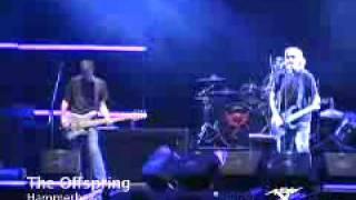 The Offspring - Gone Away (vivo en Argentina, MTV)