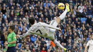 Cristiano Ronaldo - Crazy Bicycle Kicks Show HD (2003-2015) width=