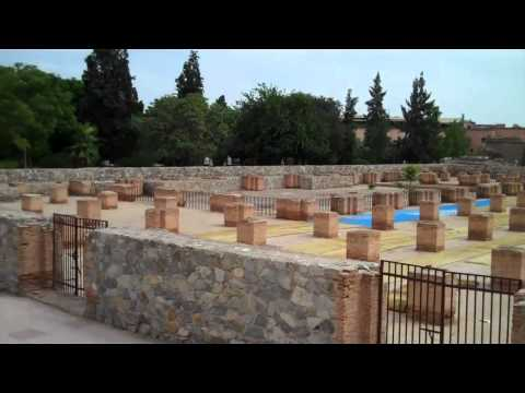 MOROCCO: A walk from Hotel Royal Mirage to Marrakech Centre