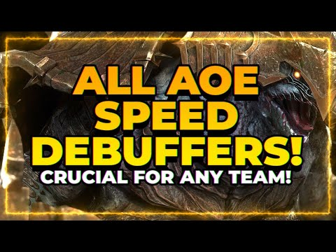 ALL AoE Decrease SPD Champs! | CRUCIAL Role! | RAID Shadow Legends