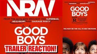 Good Boys! Trailer Reaction! #NRW! #NerdsRuleTheWorld! #goodboys!