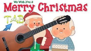 Tutorial - Come suonare We Wish You a Merry Christmas Fingerstyle facile