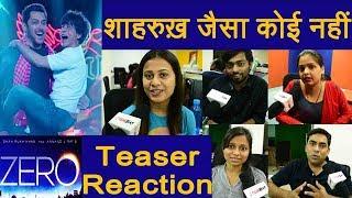 Zero Teaser Reaction: Shahrukh Khan | Salman Khan | Katrina Kaif | Anushka Sharma | FilmiBeat width=