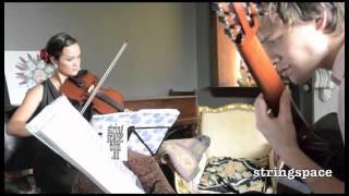 Single Ladies - Stringspace Guitar + Violin Duo (Rehearsal)