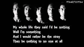 Sleeping With Sirens - The Strays (Lyrics)