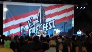 Allen Stone, Tell me something good, Virgin Mobile Freefest, Merriweather Post Pavailan, 10/6/2012