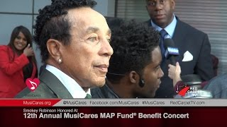 Smokey Robinson Honored At 12th Annual MusiCares MAP Fund® Benefit Concert